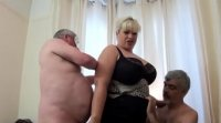 BBW best of british milf Gina George sex threesome