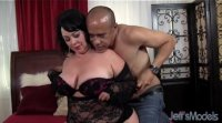 Hot bbw Alexis Couture pleases this guy's dick