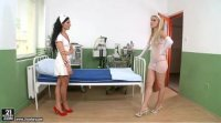 HD 21sextury - Lesbians Sophie Moone and Bettina Dicapri have fun in the hospital room