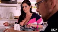 Busty Anissa Jolie craves his long hard cock in mouth and ass